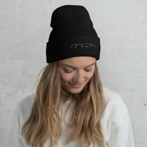 Adult Brailled Include Cuffed Beanie