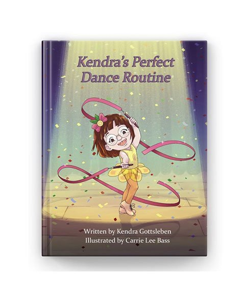 kendra's perfect dance routine kid's book.