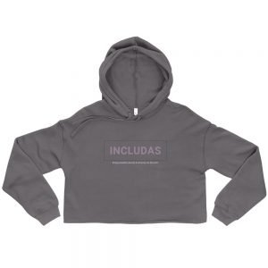Women's INCLUDAS Crop Hoodie