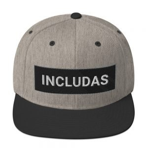 Adult INCLUDAS Snapback Hat