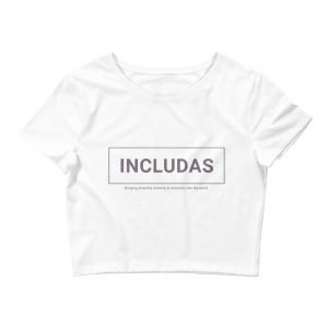 Women's Petite INCLUDAS Crop Top