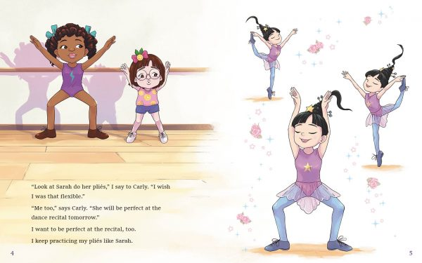 kendra's perfect dance routine, pages 4-5.