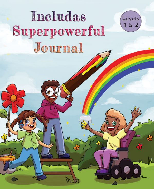 Includas Superpowerful Journal cover.
